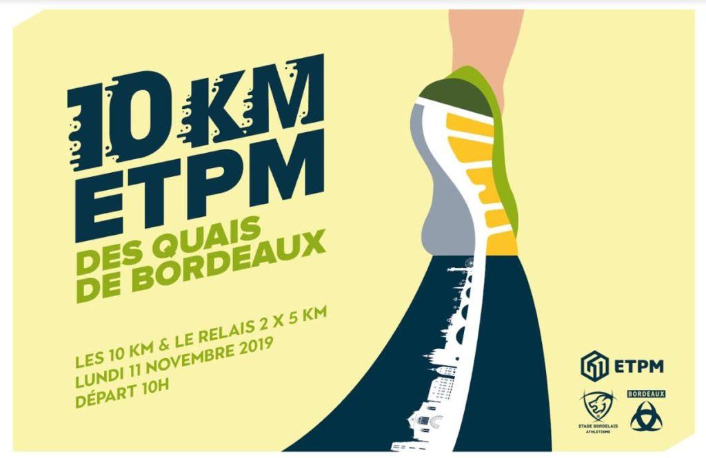 Tradition et Terroir partenaire des 10km des quai de bordeaux 2019