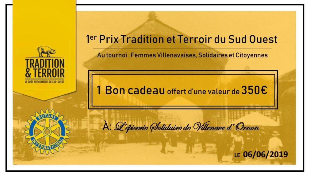Cheque Cadeau Tradition et Terroir